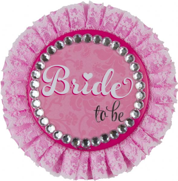 Bride to be Deluxe Badge